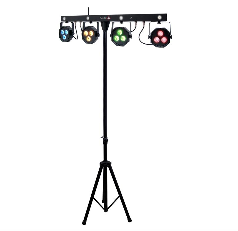 Lyssæt med trådløs pedalstyring