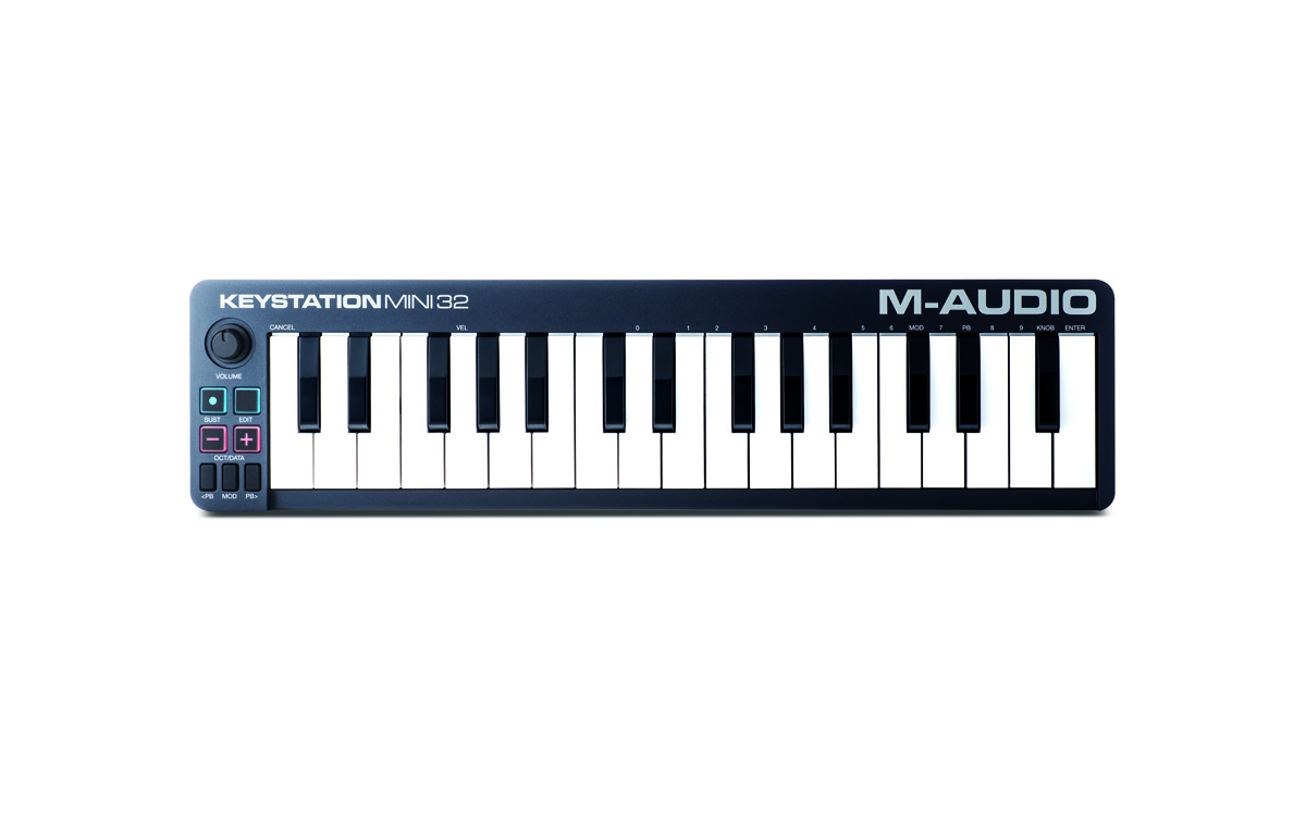 Image of   M-Audio Keystation Mini 32 II - USB/Midi-keyboard