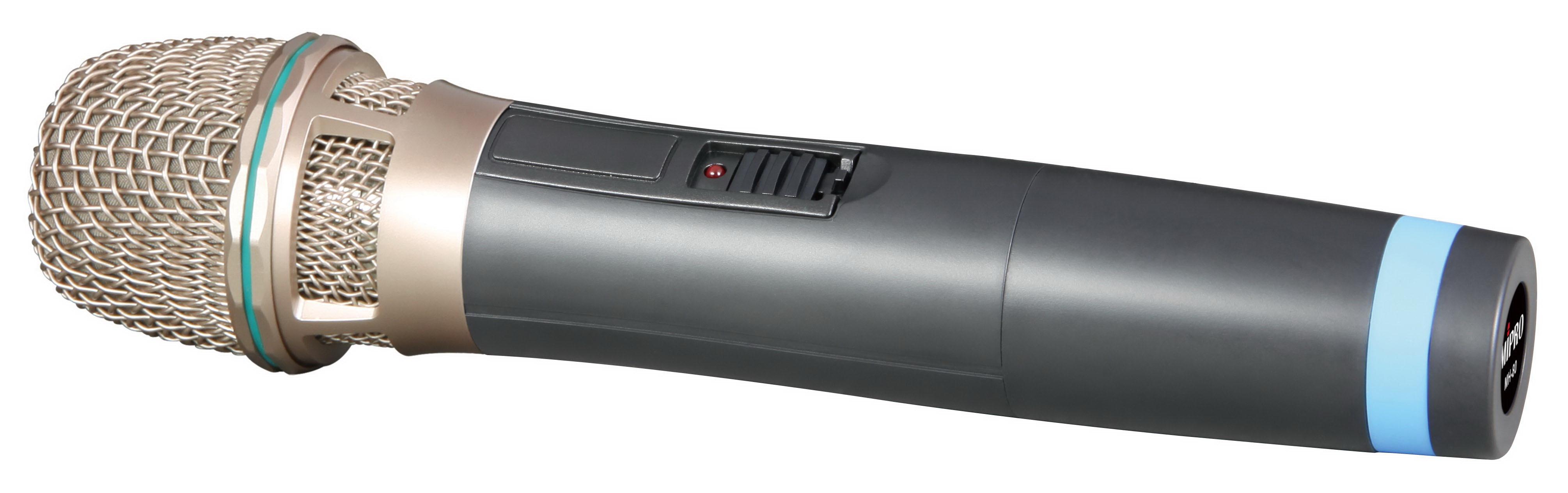 Mipro Håndmikrofon sender frekv. 824.250
