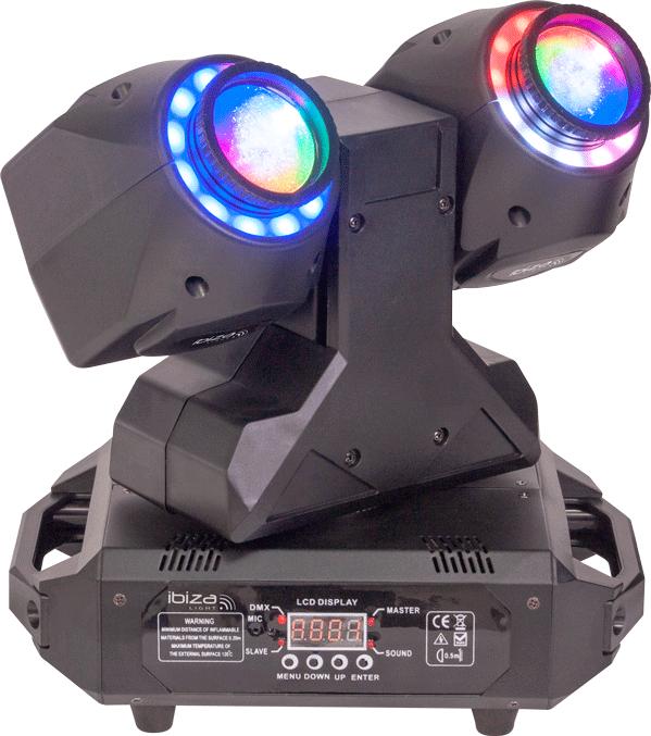 Image of   Ibiza TWIN-60 LED Moving Head
