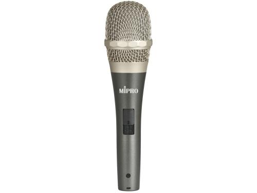 Mipro dynamisk mikrofon m/stativ adapter
