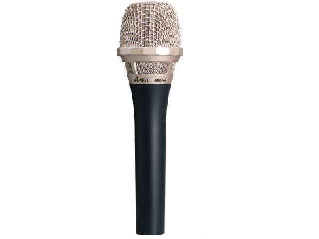 Mipro kondensator mikrofon m/stativ adapter