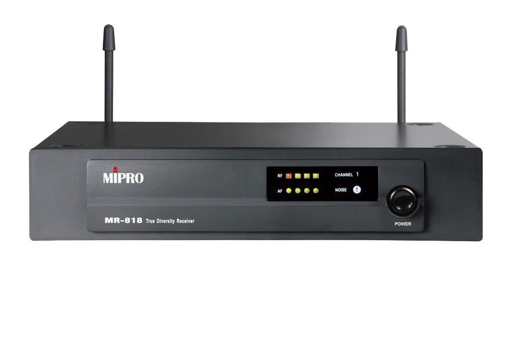 Image of   Mipro UHF modtager frekv. 824.250