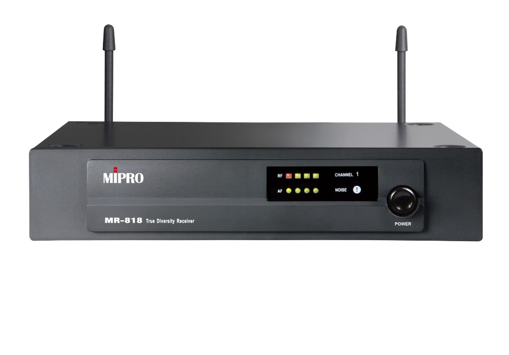Mipro UHF modtager frekv. 824.250