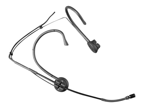 Mipro headset mikrofon MU55 med 5 mm kugle kapsel, Sort