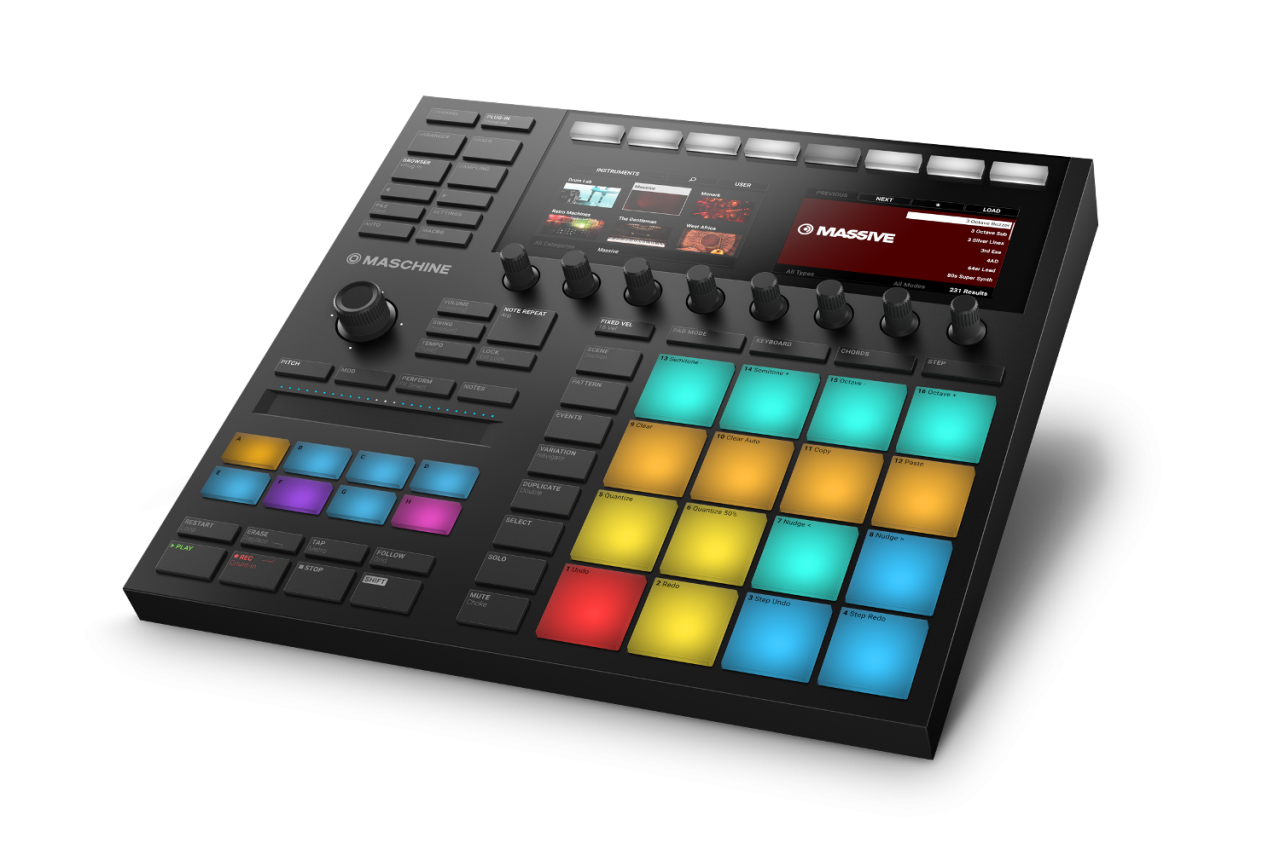 Native Instruments MASCHINE MK3 Sort