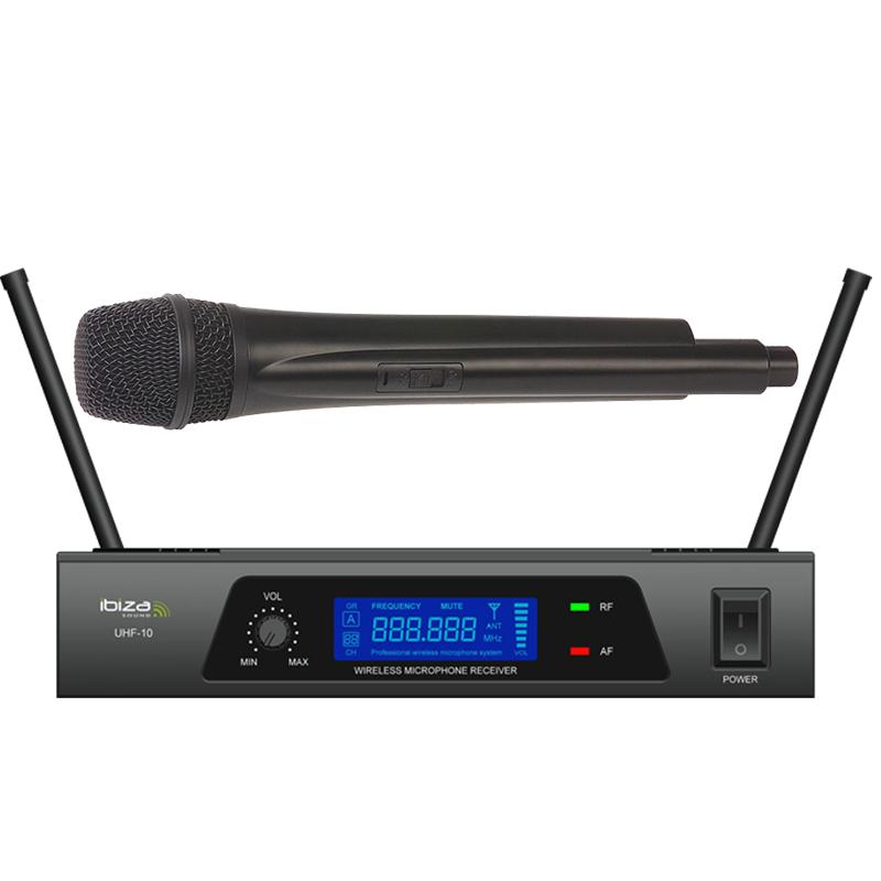 Ibiza UHF Trådløs Mikrofon system