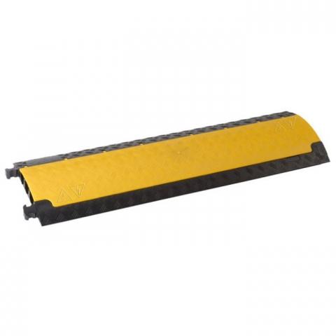 Image of   Defender Mini Kabel beskytter med 3 kanaler gul