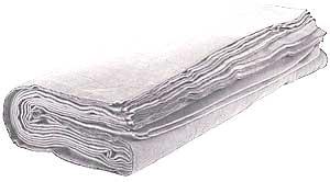 Molton 60m x 3m Hvid 300g
