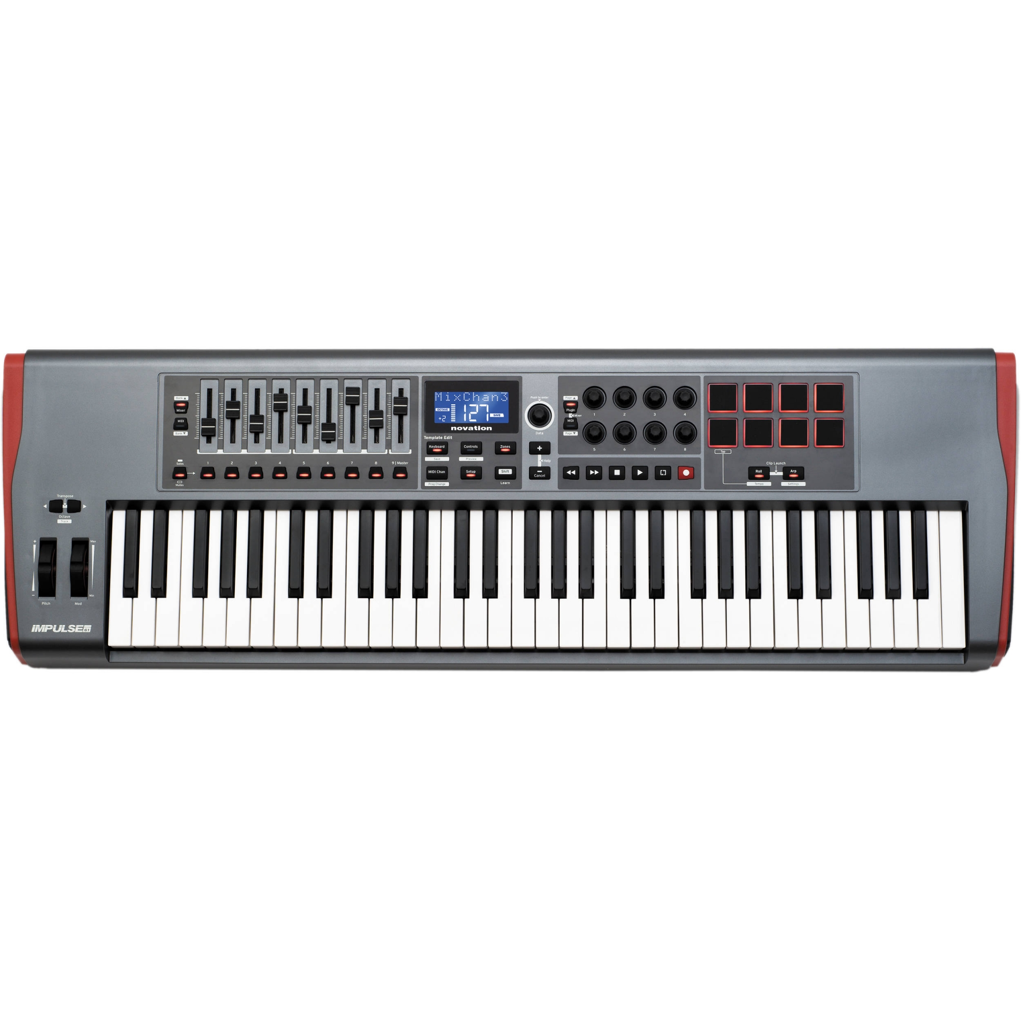 Image of   Novation Impulse 61
