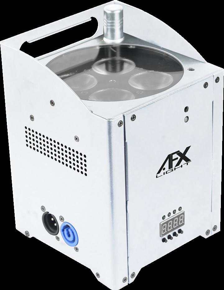 Image of   AFX W15 Trådløs RGBAW LED Lampe Hvid