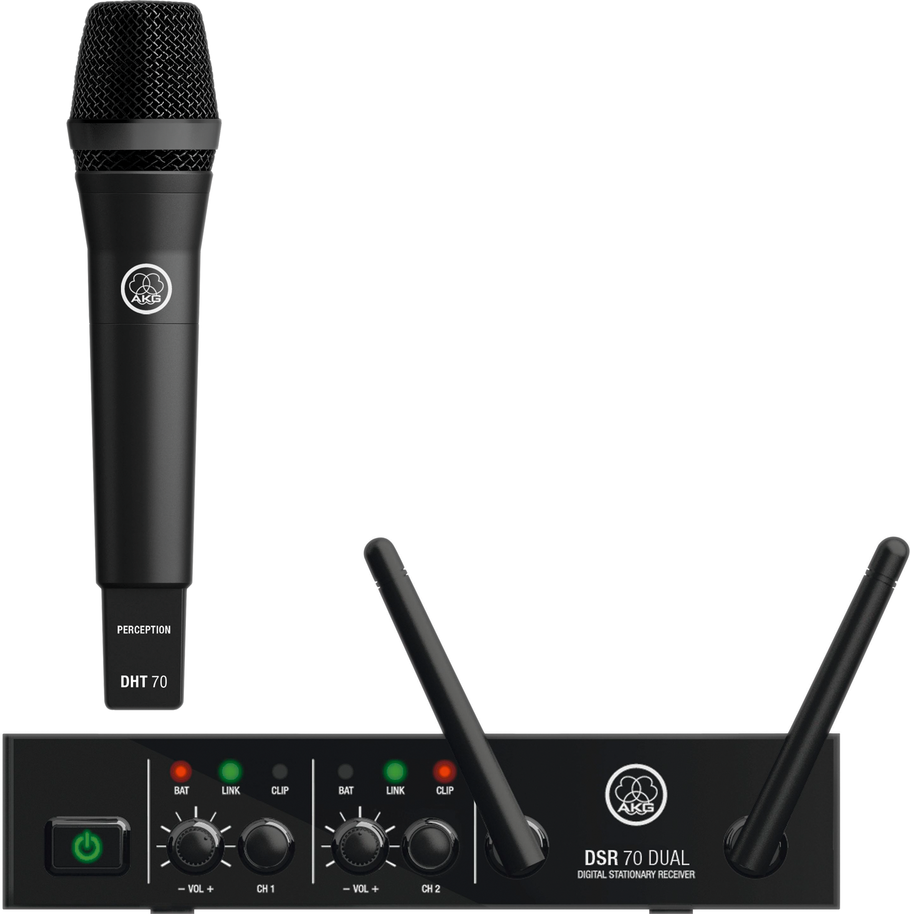 AKG DMS 70 DUAL Vocal Set.