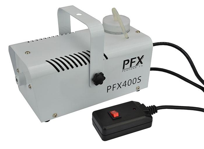 PFX Røgmaskine 400 watt Hvid