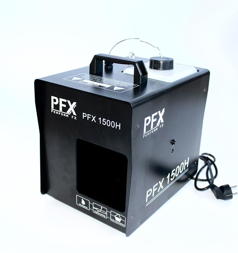 PFX hazer 1500 watt med DMX