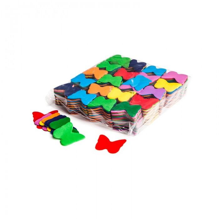 Image of   Papir konfetti - Sommerfugl Gul