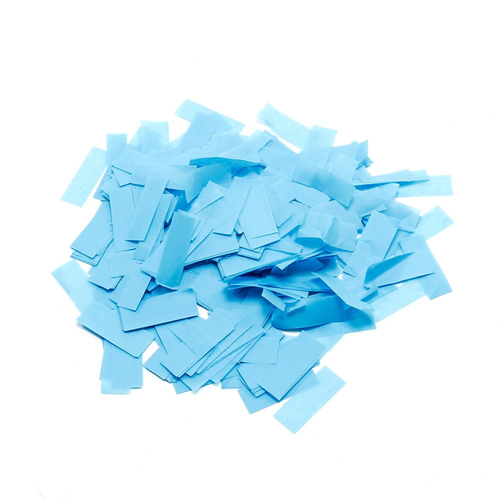 Image of   Papir konfetti Lys Blå