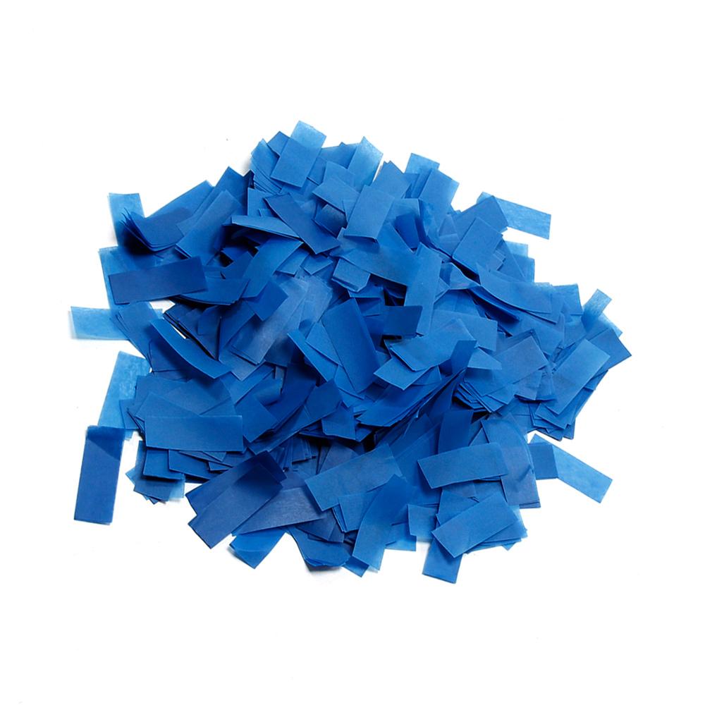 Image of   Papir konfetti Mørk Blå