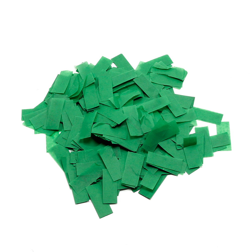 Image of   Papir konfetti Mørk Grøn