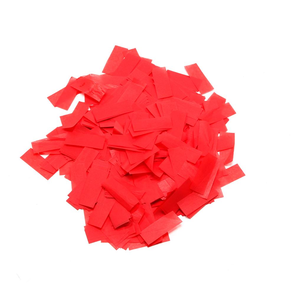Image of   Papir konfetti Rød