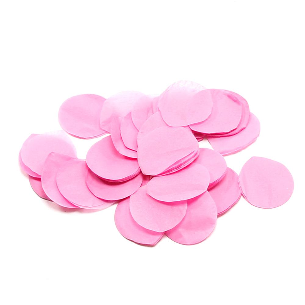 Image of   Papir konfetti - Rosenblade Pink