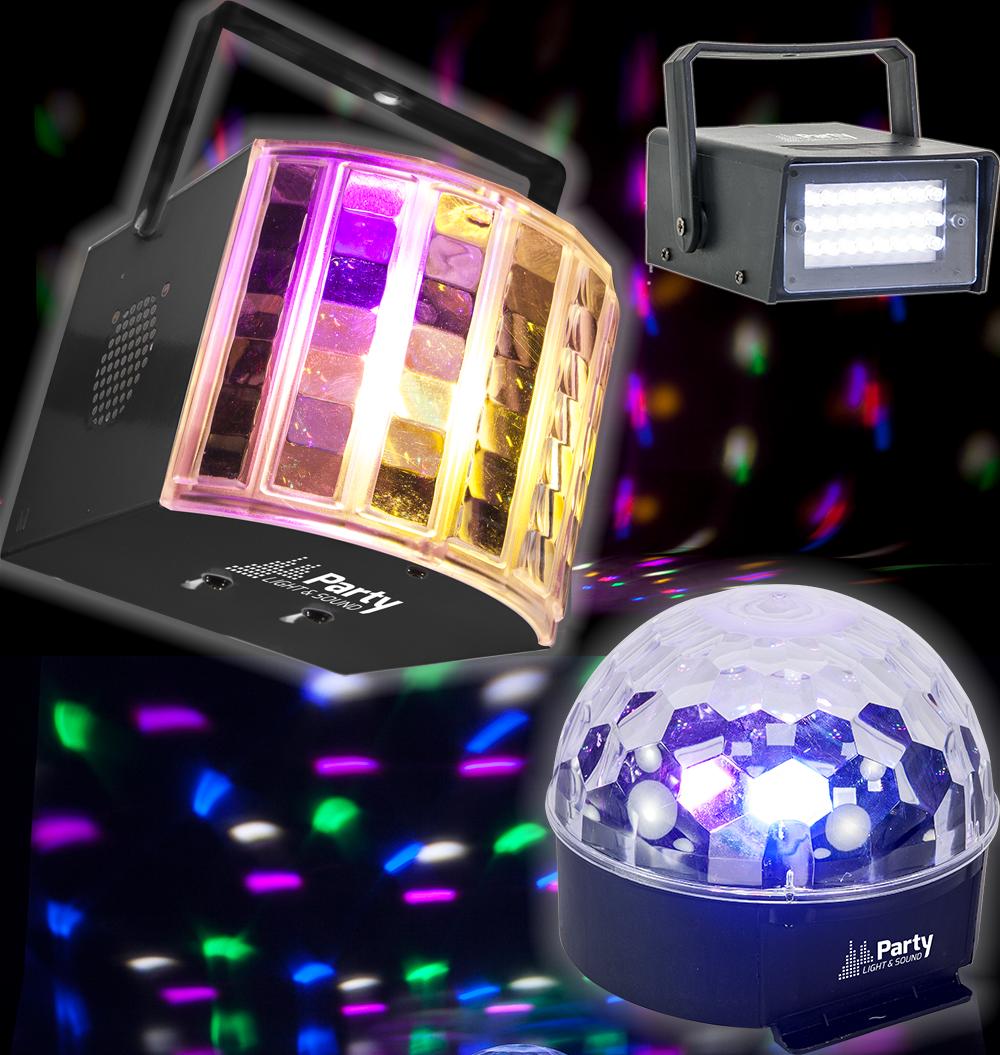 Billede af Party Lys Pakke 1