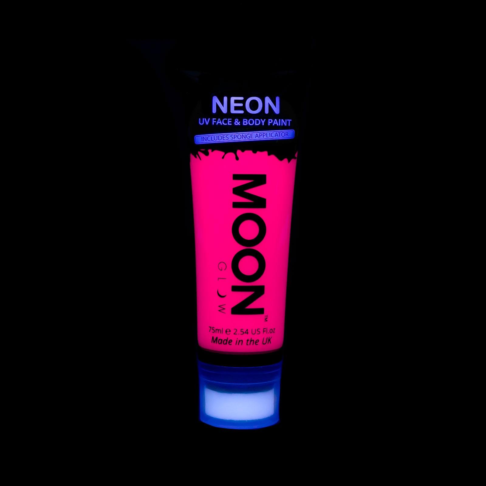 Image of   UV maling til kroppen og ansigtet 75 ml. Pink