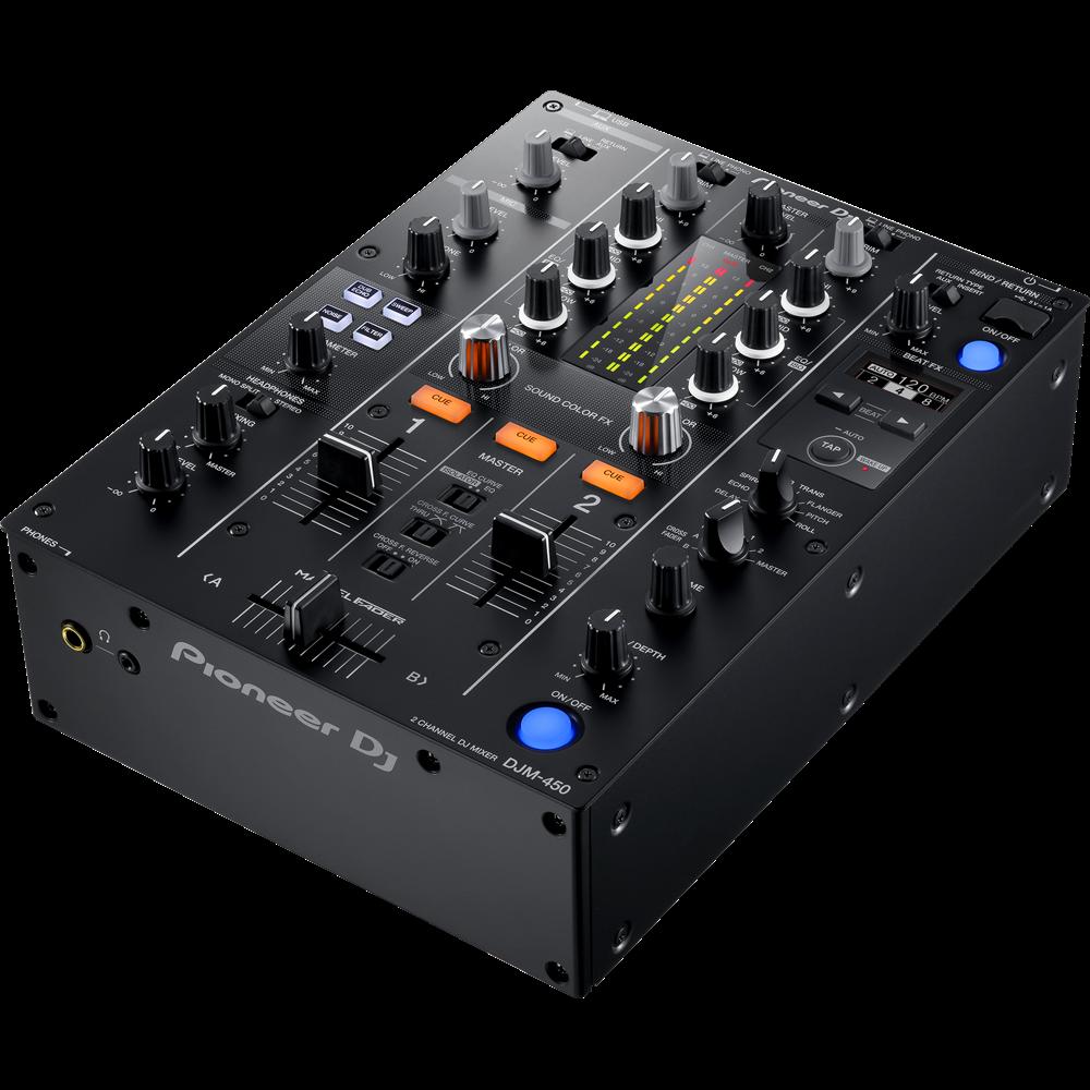2 kanals DJ mixere