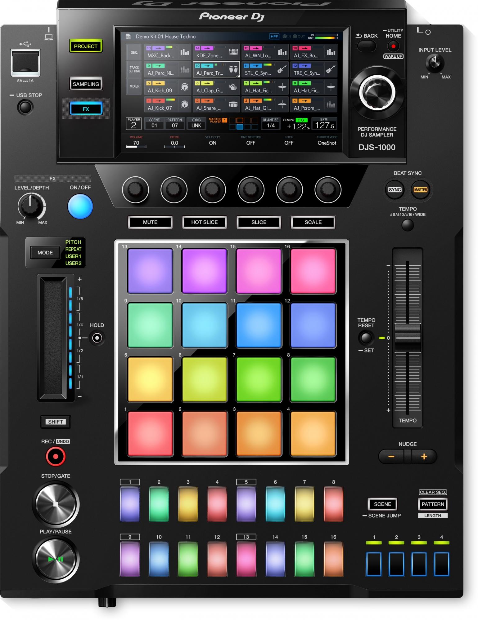 Pioneer DJS-1000 DJ effektmaskine