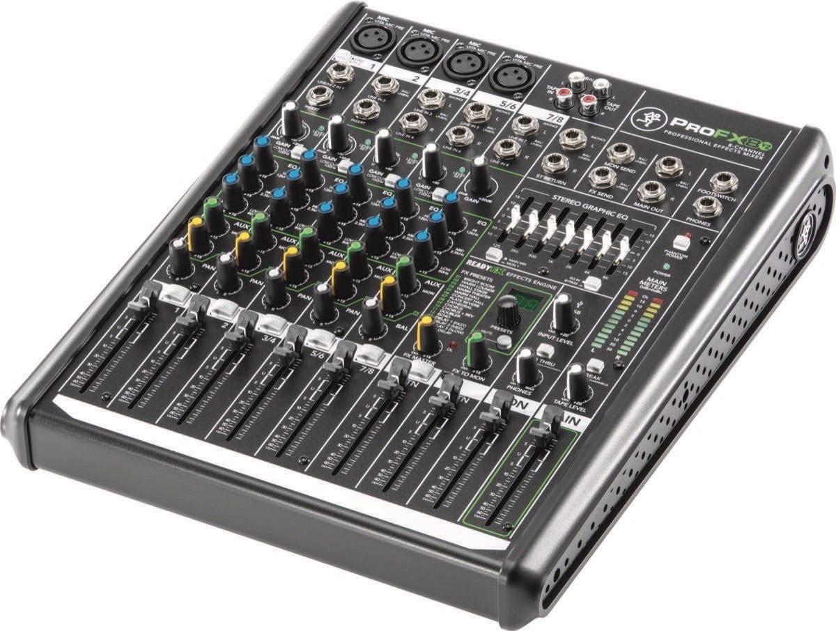 Image of   Mackie ProFX8 v2 Mixer 8 kanaler med effekter og USB