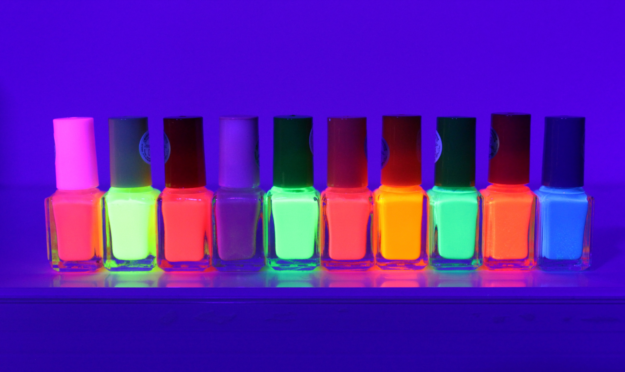 Image of   UV neglelak Neon Orange