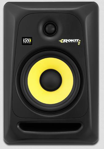 Image of   KRK RP6-3 ROKIT aktiv studie højttaler Sort