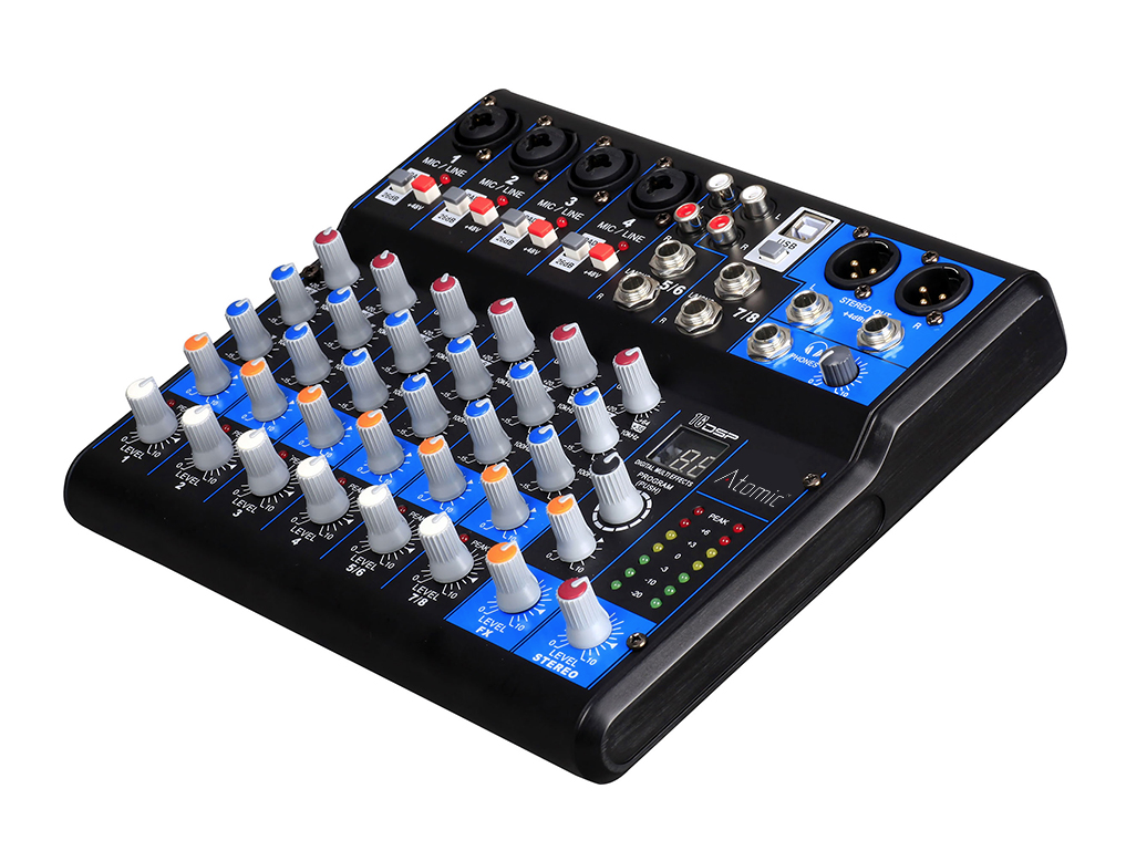 Image of   Atomic Mixer 402 (8 kanaler)