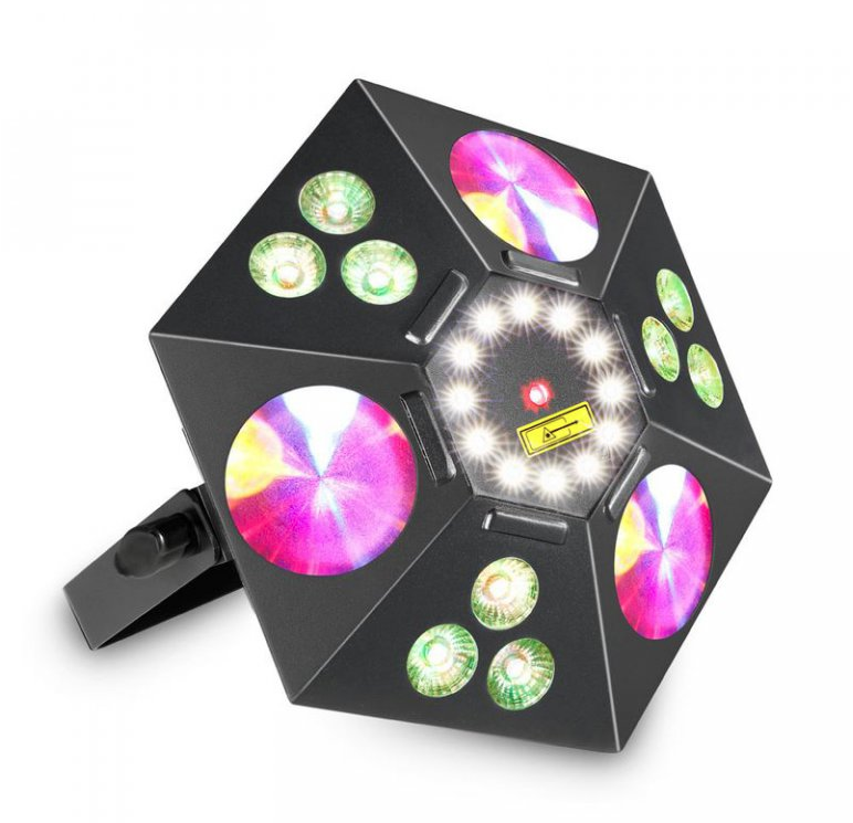 Image of   Atomic4DJ BlackStar 5IN1 Lyseffekt