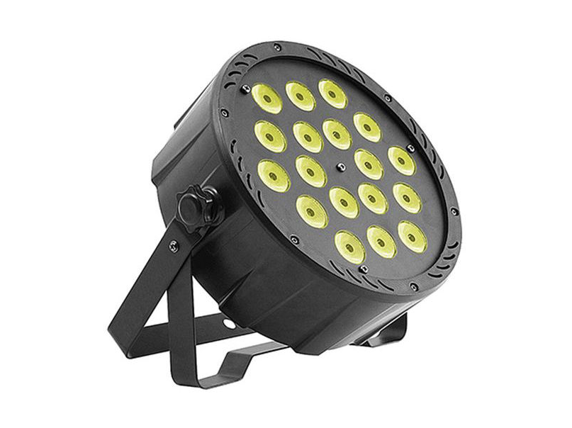 Image of   Atomic4DJ LED spot 18x8W RGBW