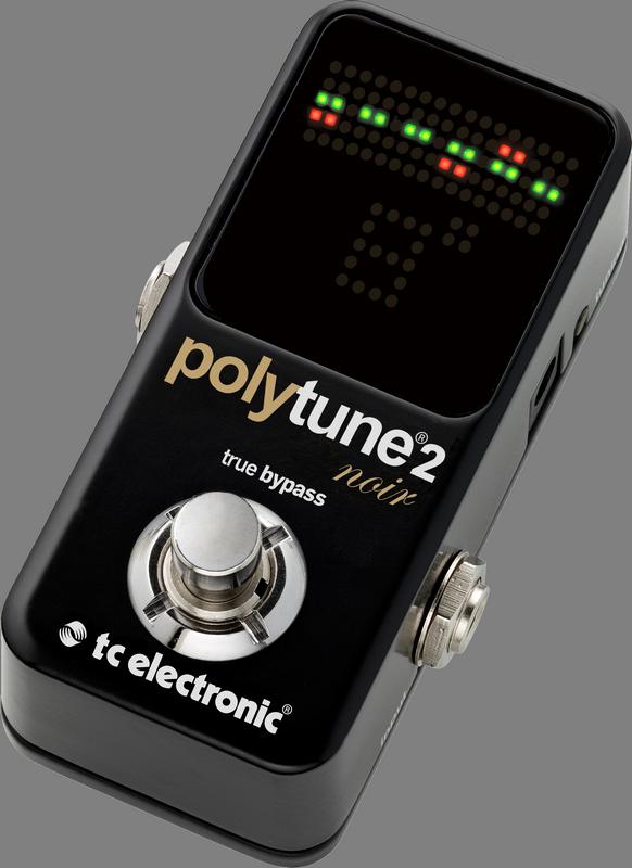 TC Electronic PolyTune 2 Noir Mini