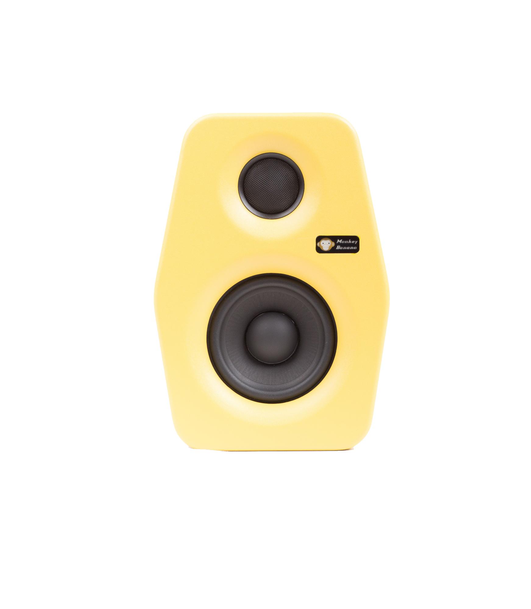 Image of   Monkey Banana Turbo 4 studie højttaler, gul