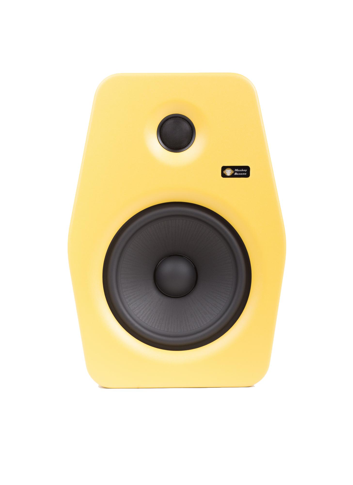 Image of   Monkey Banana Turbo 8 studie højttaler, gul