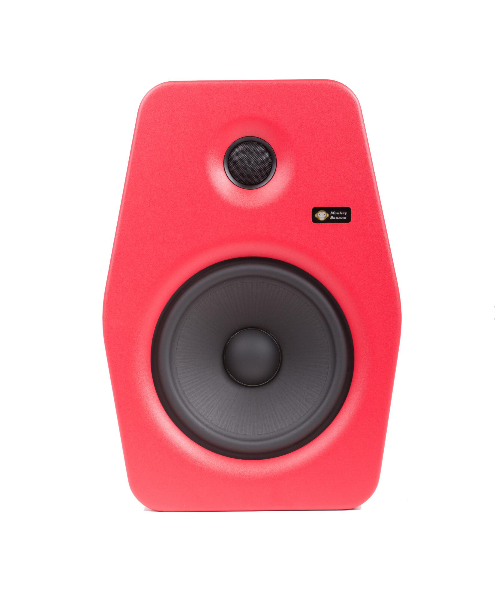 Image of   Monkey Banana Turbo 8 studie højttaler, rød