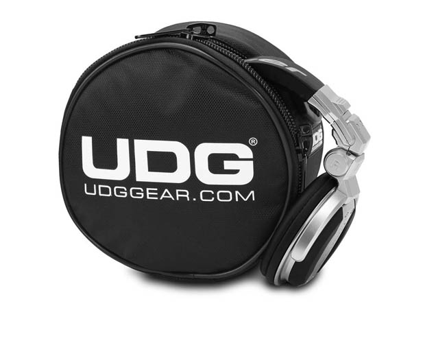 Image of   UDG Ultimate Headphone Bag Black U9960