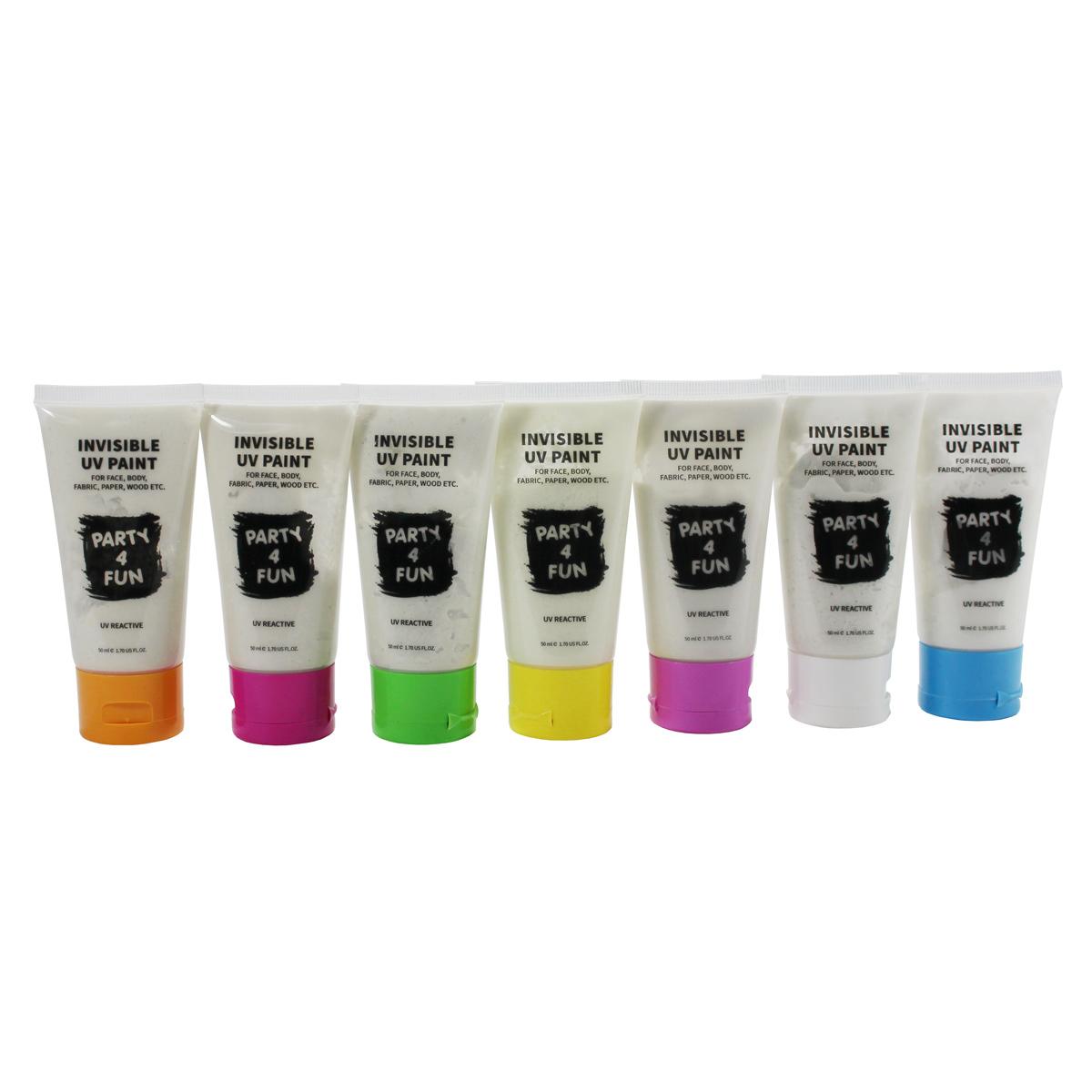 UV maling til ansigtet