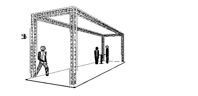 Image of   Messestand 10 x 3 x 3,5 mtr. (DT 24)