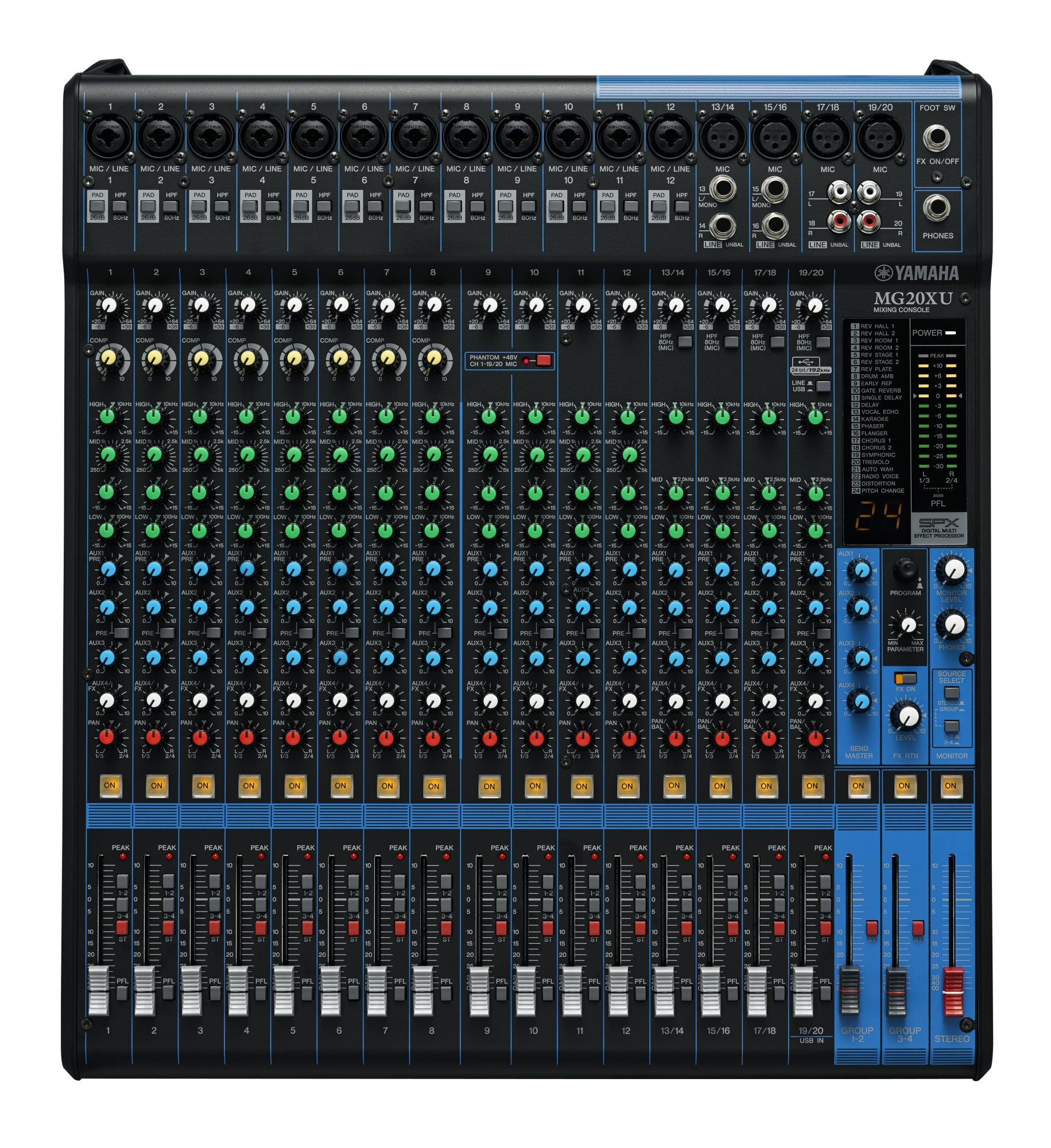 Yamaha MG20XU Live Mixer