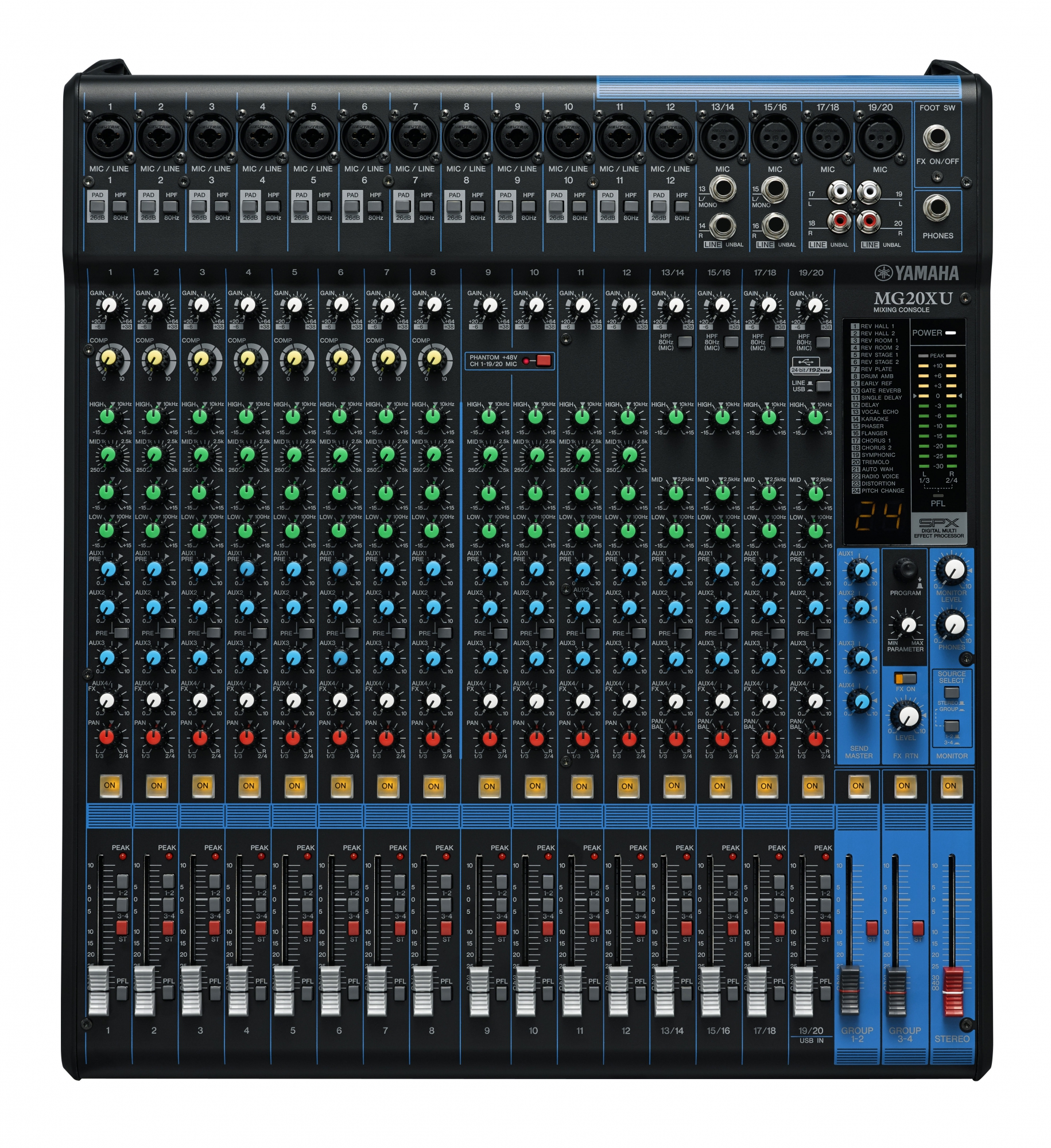 Image of   Yamaha MG20XU Live Mixer