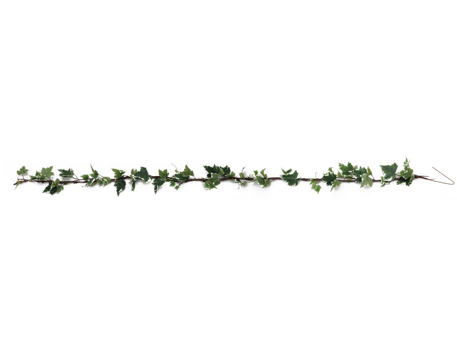 Image of   Kunstig Ivygarland, green-white, 350cm