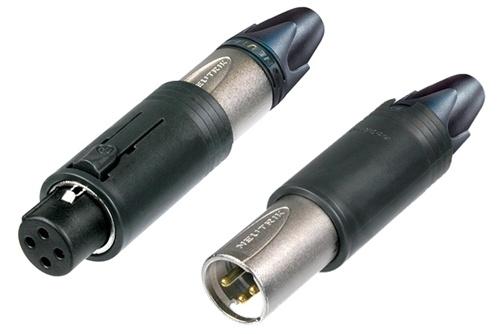 Neutrik Kabel Stik convertCON XLR Unisex Sølv