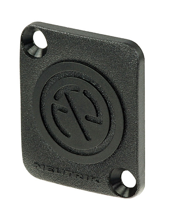 Billede af Neutrik DBA Blanking Plate Type-D