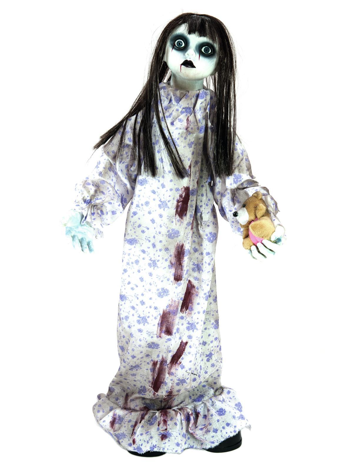Image of   Halloween animeret dukke, 76 cm