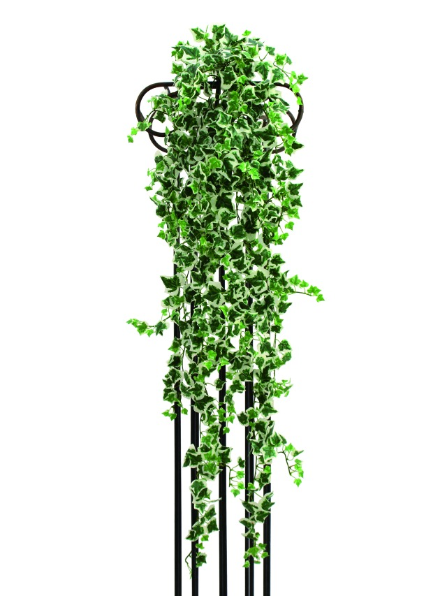 Billede af Kunstig Ivy tendril, green-white, 100cm
