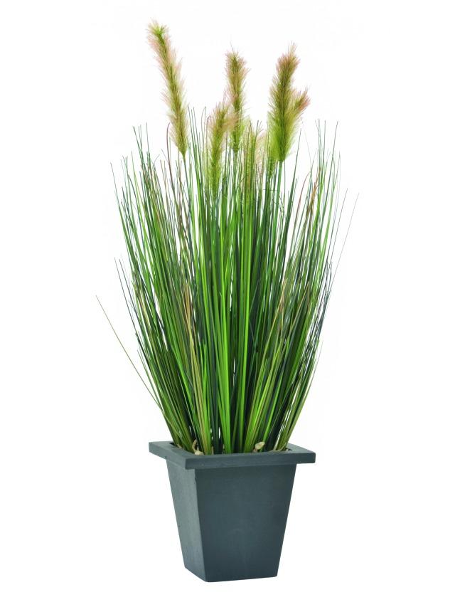 Billede af Kunstig Watergras in pot, 60cm