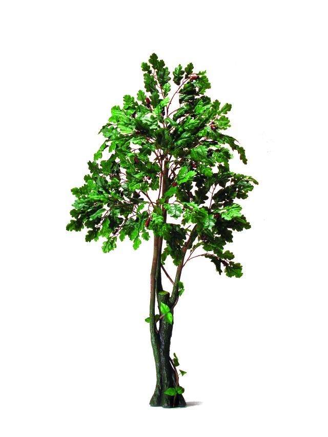 Image of   Kunstig Oak Forest Tree, 180cm
